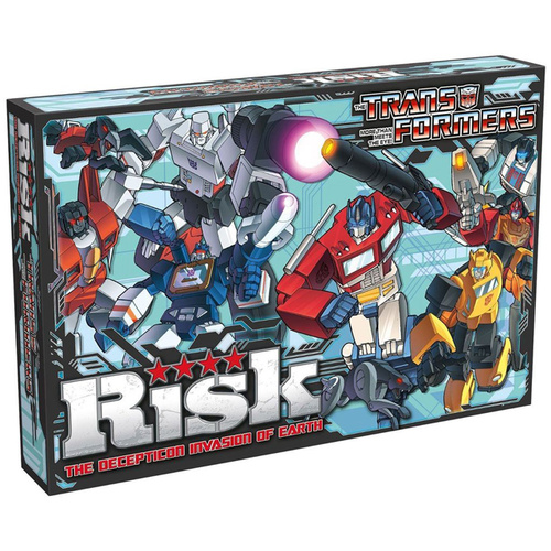 Transformers Risk The Decepticon Invasion of Earth