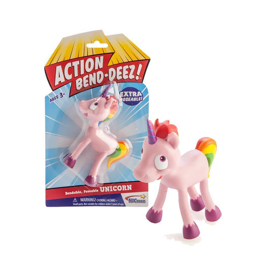 Unicorn Action Bend-deez