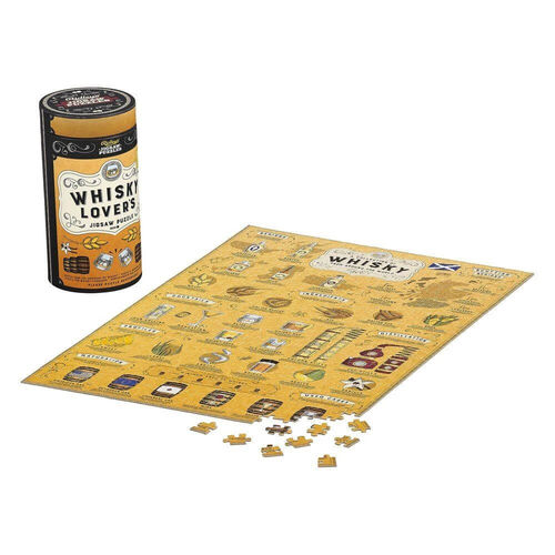 Whisky Lovers 500pc Jigsaw Puzzle